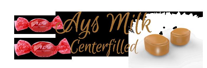 AYS MILK CENTERFILLED